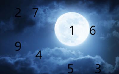 La Pleine Lune et les chiffres