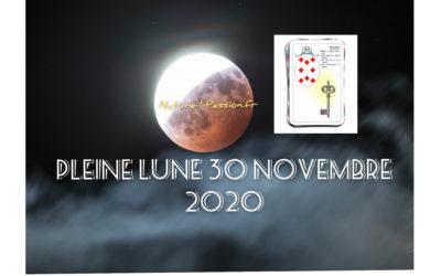 Pleine lune 30 novembre 2020 : c'est dans l'air du temps !